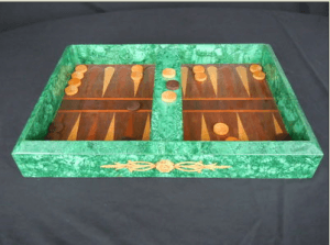 Backgammon Board Luxury Items Made From Crystal And Stone